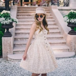 Anthropologie Maeve Cafe Dress